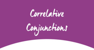 Correlative Conjunctions ABA English