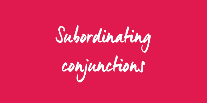the use of subordinating conjunctions aba journal