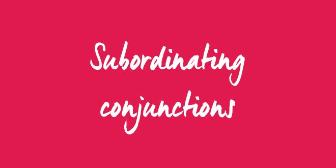 EN subordinating