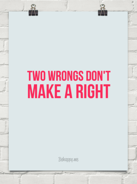 two rights