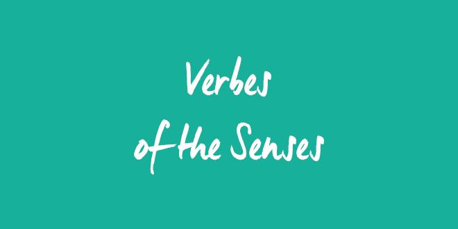 EN verbes senses