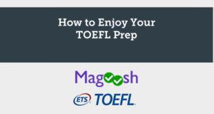 How to Enjoy Your TOEFL Prep
