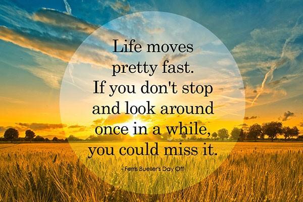 life moves fast - aba english