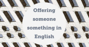 Offering-someone.something-in-english-abaenglish
