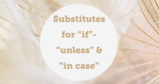 substitutes-for-if-unless-incase-abaenglish