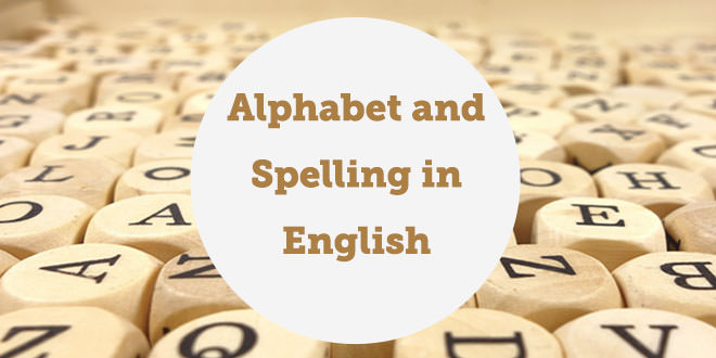 the alphabet and spelling in english aba journal