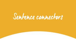 sentence connectors