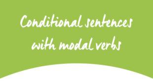 Conditional sentences with modal verbs ABA English