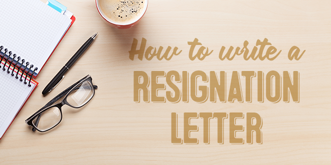 How to Write a Resignation Letter in English