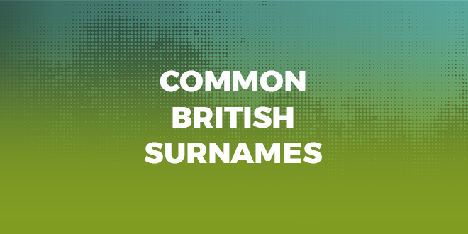 common-british-surnames