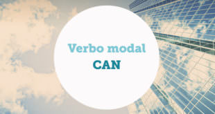 verbo modal can