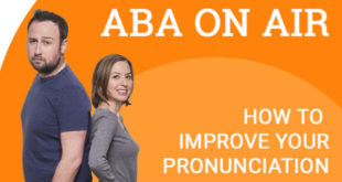 13-1 Improve your Pronounciation