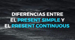 Diferencias entre el present simple y el present continuous
