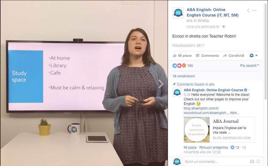 lezioni-in-diretta-facebook-teacher-robin-abaenglish