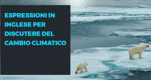 Vocabolario inglese cambiamento climatico