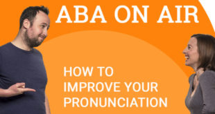 How to improve your pronunciation