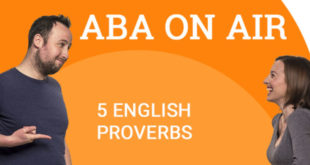 37 - 2 5 English proverbs