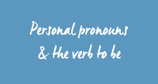 PT pronombres personais
