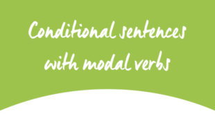 Conditional sentences with modal verbs ABA English