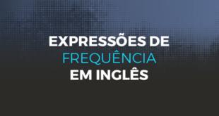 Expressões de frequência em inglês