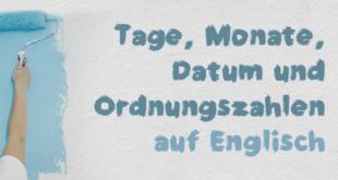 Tage-Monate-Datum-und-Ordnungszahlen-abaenglish