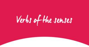 Verbs of the senses ABA English