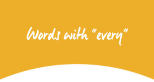 Words with every ABA English