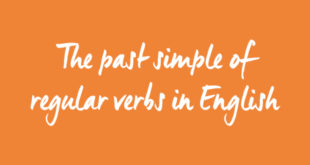 past-simple-of-regular-verbs-in-english-abaenglish